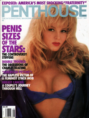 Penthouse Magazine - August 1991