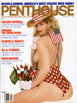 Penthouse Magazine - October 1991