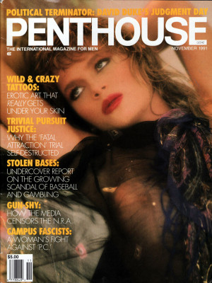 Penthouse Magazine - November 1991