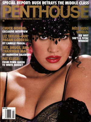 Penthouse Magazine - March 1992