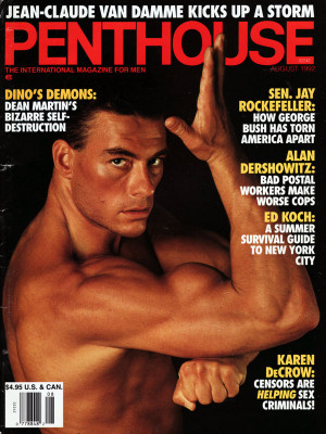 Penthouse Magazine - August 1992