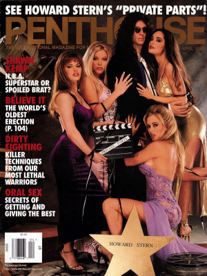 Penthouse Magazine - April 1997