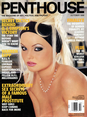 Penthouse Magazine - October 1998