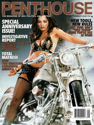 Penthouse Magazine - September 2000
