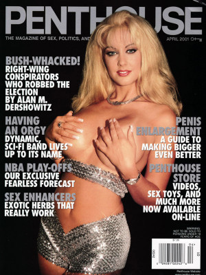 Penthouse Magazine - April 2001