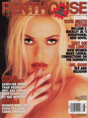 Penthouse Magazine - August 2001