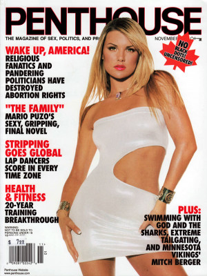 Penthouse Magazine - November 2001