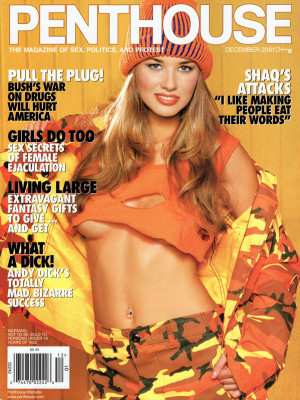 Penthouse Magazine - December 2001