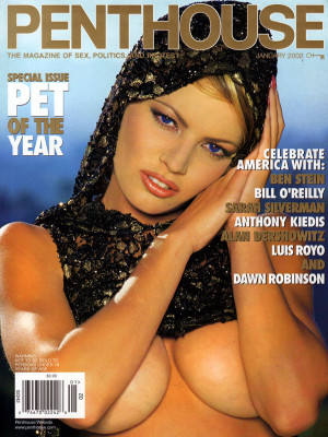 Penthouse Magazine - January 2002