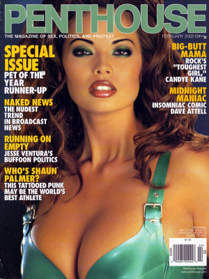 Penthouse Magazine - February 2002