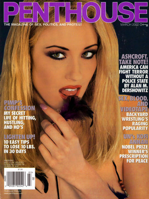 Penthouse Magazine - March 2002