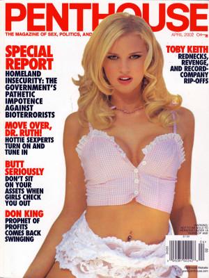 Penthouse Magazine - April 2002