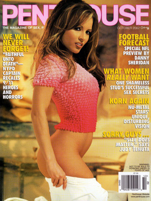 Penthouse Magazine - October 2002