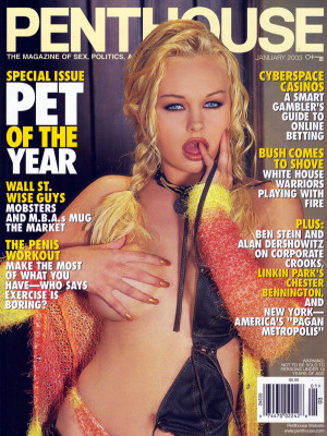 Penthouse Magazine - January 2003