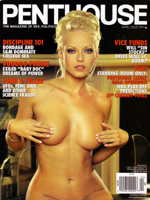 Penthouse Magazine - April 2003