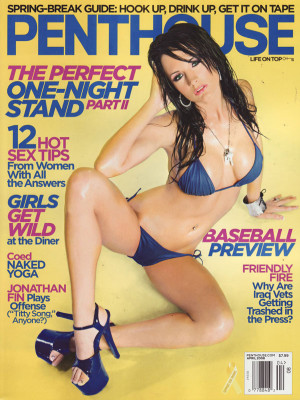 Penthouse Magazine - April 2008