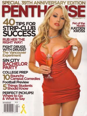 Penthouse Magazine - September 2008
