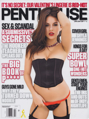 Penthouse Magazine - February 2012