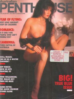 Penthouse Australia - Penthouse Jan 1988