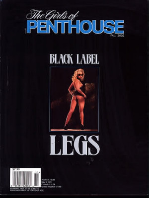Girls of Penthouse - Black Label Fall 2002