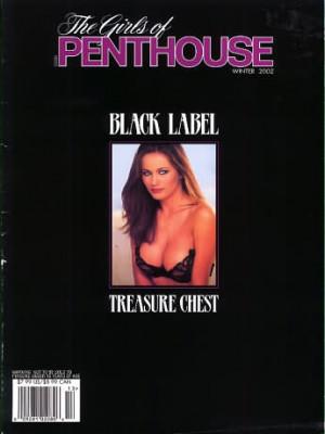 Girls of Penthouse - Black Label Winter 2002