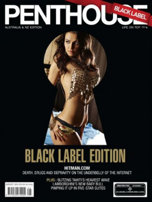 Penthouse Black Label - Aug 2014