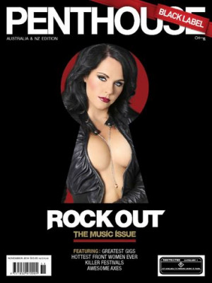 Penthouse Black Label - Nov 2014