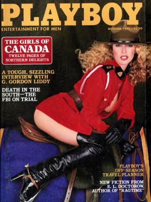 Playboy - October 1980