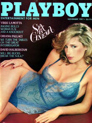Playboy - November 1981