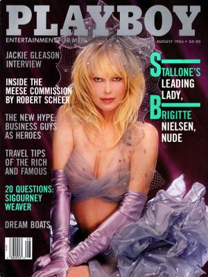 Playboy - August 1986