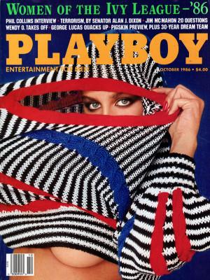 Playboy - October 1986