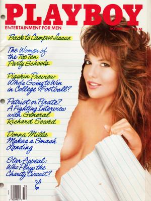 Playboy - October 1987