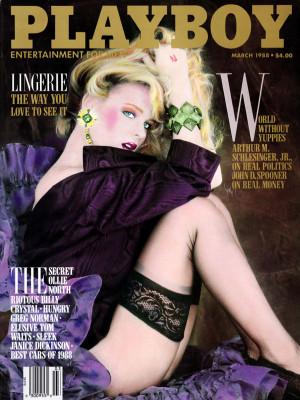 Playboy - March 1988
