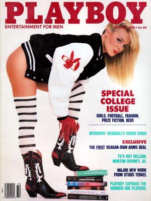 Playboy - October 1988