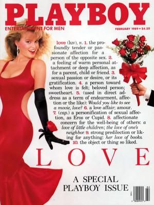 Playboy - February 1989