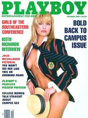 Playboy - October 1989