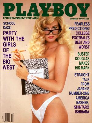 Playboy - October 1990