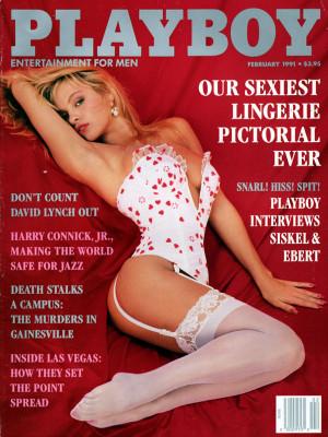 Playboy - February 1991