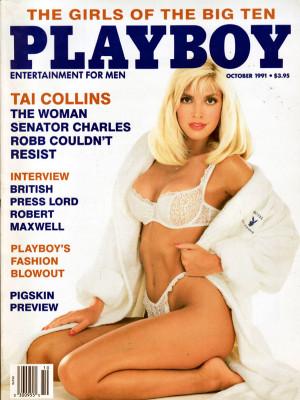 Playboy - October 1991