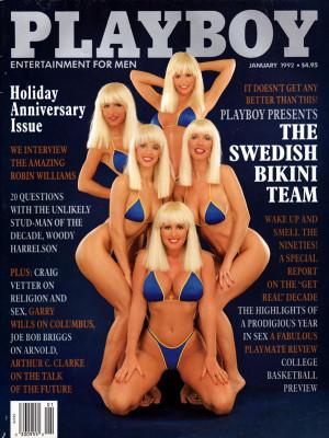 Playboy - January 1992