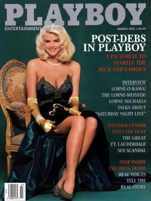 Playboy - March 1992