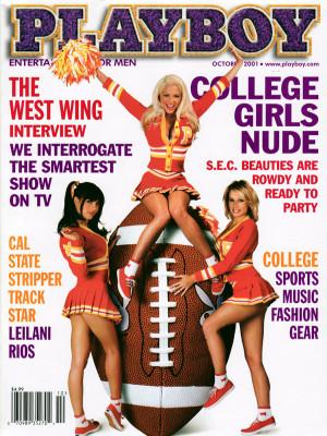 Playboy - October 2001