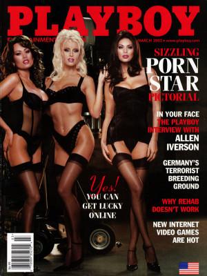 Playboy - March 2002
