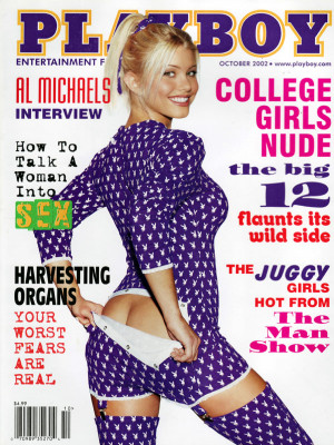 Playboy - October 2002