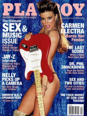 Playboy - April 2003