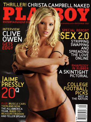 Playboy - September 2007