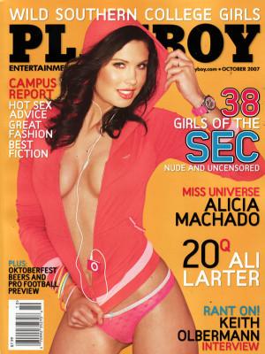 Playboy - October 2007