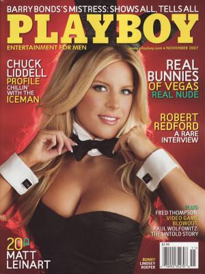 Playboy - November 2007
