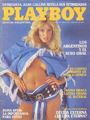 Playboy Argentina - July 1985