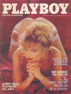 Playboy Argentina - Aug 1985